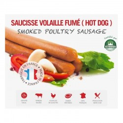 Saucisse de Volaille Fumé Hot -Dog